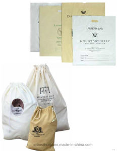 Hotel Bag Non-Woven Hotel Drawstring Laundry Bag pictures & photos
