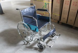 CE Certificate Economic Manual Wheelchair (SK-SW201) pictures & photos