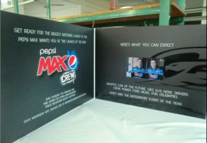 Newest Design LCD Video Card for Adverting with Factory Price pictures & photos