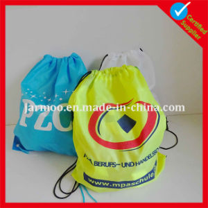 Custom Nylon Polyester Drawstring Bag pictures & photos