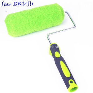 20mm Pile Height Paint Roller Brush with Soft Rubber Handle