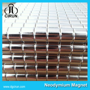 10mm Disc Neodymium Rod Magnets for Industrial Motor pictures & photos