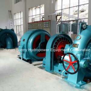 Hydropower Francis Turbine-Generator Medium Capacity 850~6000kw / Hydropower Generator pictures & photos
