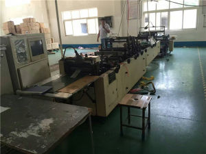 Used Double Layer Middle Sealing and Bottom Sealing and Bag Cutting Machine