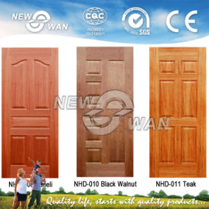 Veneered HDF Moulded Doors (NTD-HD4001) pictures & photos