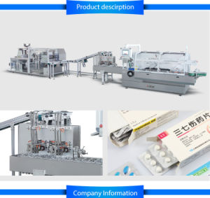 Blister Packing Machine and Cartoning Machine Line pictures & photos
