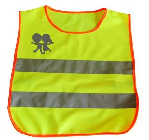 Custom Printed Kids Reflective Safety Vest pictures & photos