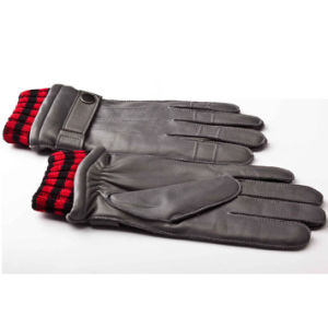 Men′s Fashion Warm Leather Motorcycle Driving Sports Gloves (YKY5178-2) pictures & photos
