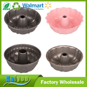 Round Non Stick Carbon Steel Cake Pan and Bundt Pan pictures & photos