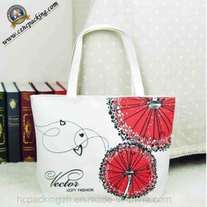 Beautiful Logo Shopping Canvas Bag (HC00150708001) pictures & photos