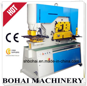 Hydraulic Iron Worker Machine Q35y 30 High Precision Bohai Manufacturer pictures & photos