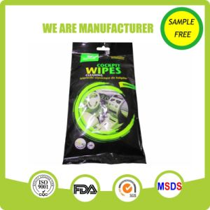 Eco Friendly Easy Cleaning Interior Car Wipes pictures & photos