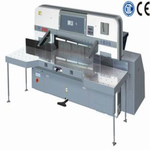 Digital Display Double Worm Wheel Paper Cutting Machine (SQZX2200D) pictures & photos