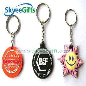 Cartoon Characters Soft PVC Keychain pictures & photos