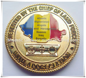 Customized Zinc Die Cast Coin pictures & photos