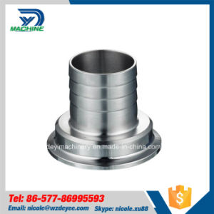 Stainless Steel Sanitary Thread Ferrule Hose Adapter Fitting pictures & photos