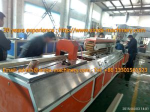 PVC Artificial Marble Profile Production Line Profile