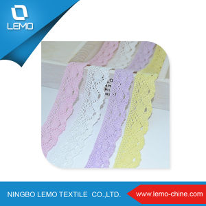 Wholesale Soft and Comfortable Cotton Lace pictures & photos
