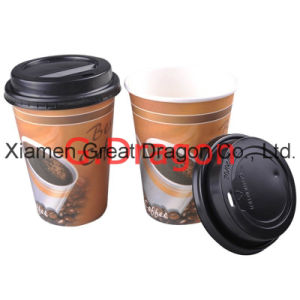 1.5-32 Ounce Hot Beverage Paper Cups and Lids (PC021) pictures & photos