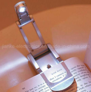 LED Auto Flip Book Light with Logo Printed (4002)