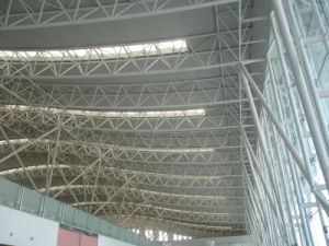 Steel H Beams Used/ Steel Space Truss Structure pictures & photos