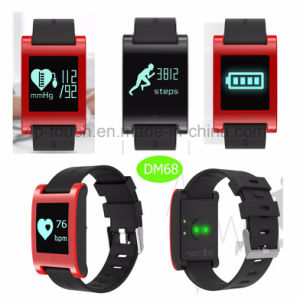 Waterproof Wristband Bluetooth Smart Bracelet with Heart Rate Monitor Dm68 pictures & photos