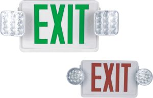 Emergency Fire Light with Exit Sign pictures & photos