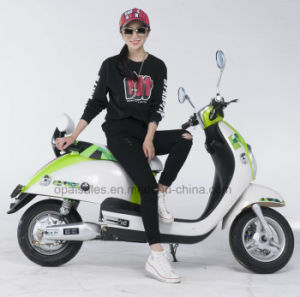 E-Scooter Ladies Electric Motor Motorcycle Electric Motor Bike Digital Display pictures & photos