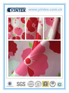 Heavy Poly Satin Print Poly Fabric pictures & photos