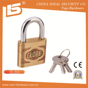 High Quality Globe Brass Padlock (HL01) pictures & photos