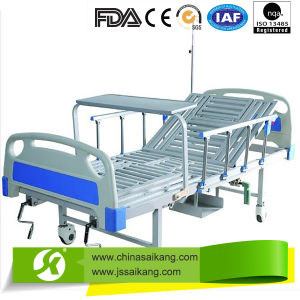 Hospital Furniture Manual Nursing Bed pictures & photos