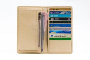 Genuine Leather Passport Holder/Leather Credit Card Holder Travel Wallet
