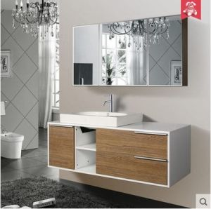 High Quality Bathroom Cabinet Made of Oak pictures & photos