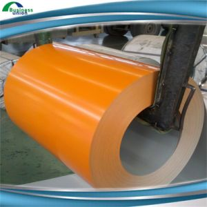 Slit Color Coated Steel Coils/PPGI/Prepainted Galvanized Steel Coils pictures & photos