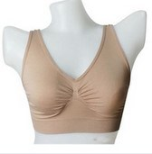 Womens Hot Sex Seamless Leisure Bra pictures & photos