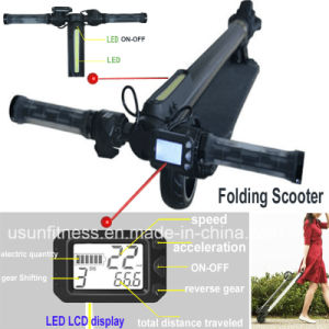 5 Inch Folding Electric Scooter with Speed Display pictures & photos