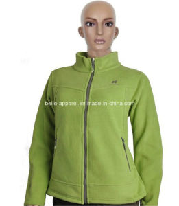 Custom Fashion Women′s Polar Fleece Jackets pictures & photos