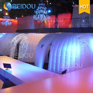 LED Wedding Party Camping Dome Tent Mini Inflatable Hard Shell Roof Top Event Tents