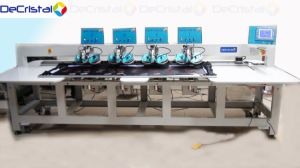 Automatic Multi-Head Hot Fix Rhinestone Machine for Garments, Dress pictures & photos