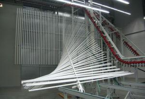 Vertical Powder Coating Line for Aluminium pictures & photos