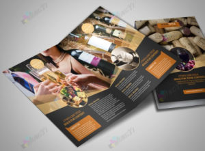 High Quality Half Fold 2 Panel Fold Flyer Brochure pictures & photos