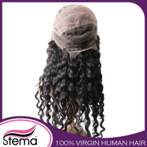 Most Popular Virgin Brazilian Human Hair Full Lace Wig pictures & photos