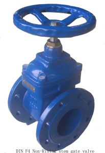 Resilient Seated Gate Valve, Flanged or Socket Gate Valve pictures & photos