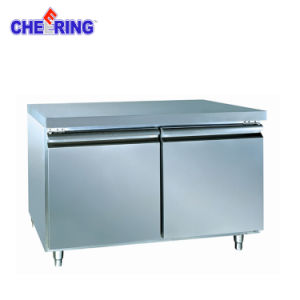 Commercial Two Door Stainless Steel Undercounter Refrigerator pictures & photos