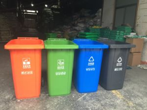 Hot! 240L Dustbin! Customized Color pictures & photos