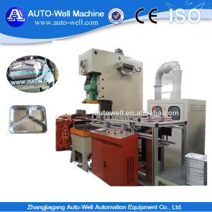 Aluminium Foil Airline Meal Container Production Line-Atw pictures & photos