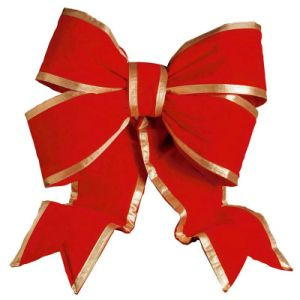 Giant Red Christmas Gift Decoration Bow for Car (CBB-1125) pictures & photos