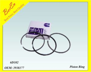 Good Quality Piston Ring for Excavator Engine 6D102 (Part number: 3938177) pictures & photos