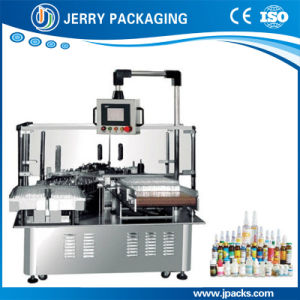 Automatic Small Glass & Plastic Bottle Sticker Label Labeling Machine pictures & photos