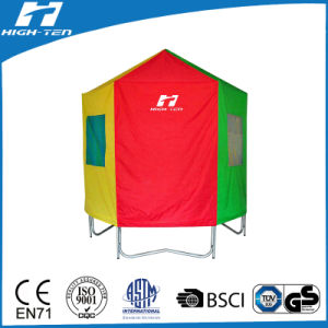 Green Color Trampoline Tent, Full Cover pictures & photos